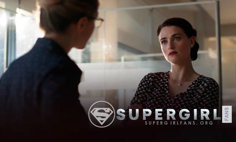 'Supergirl': Katie McGrath habla si Lena descubrirá el secreto de Kara