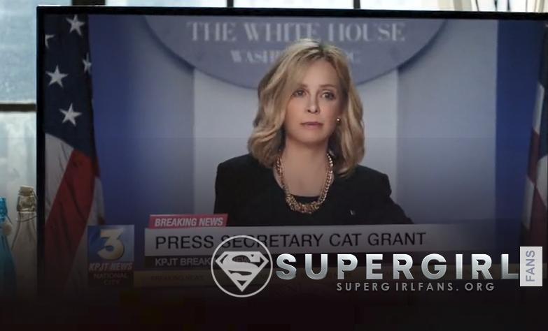 El papel de Cat Grant en la tercera temporada de 'Supergirl' es revelado