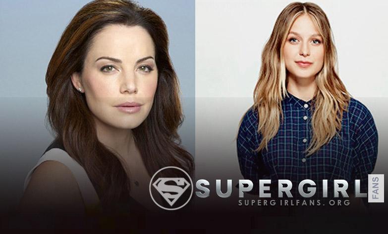 'Supergirl': Melissa Benoist habla de trabajar junto a Erica Durance