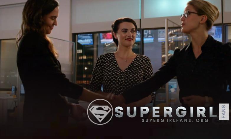 Supergirl: Detalles sobre los personajes de Kara, Lena y Sam