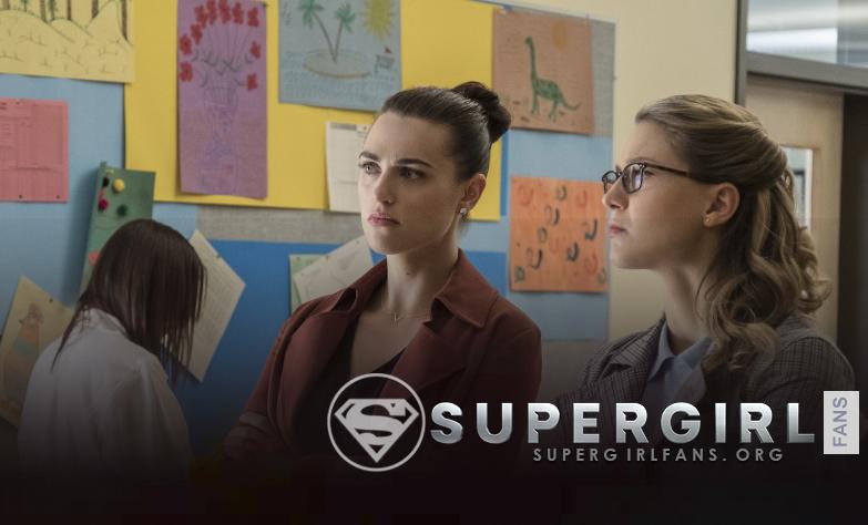 Supergirl  3.05 «Damage» Melissa Benoist habla de la relación de Kara y Lena