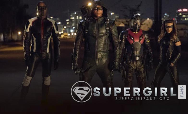 Crisis on Earth-X: las estrellas de Arrow Team hablan sus roles en el cruce