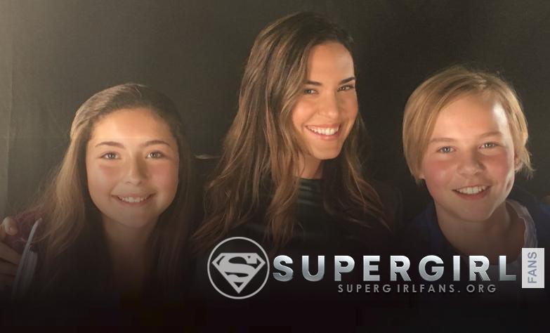 Nueva foto de Odette Annable en el set de Supergirl