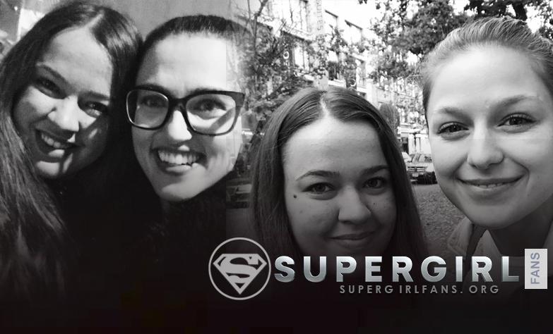 Nuevas fotos fans de Melissa Benoist y Katie Mcgrath
