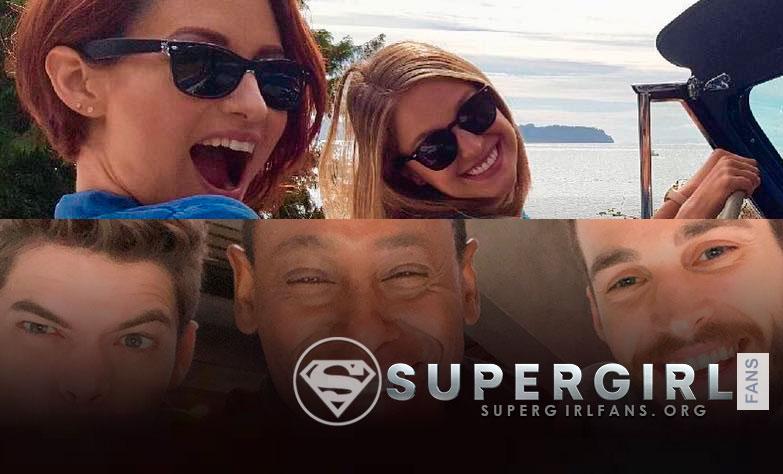 Nuevas fotos desde el set de Supergirl