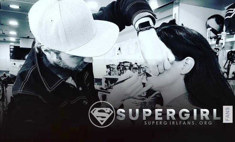 Nueva foto desde el set de Supergirl