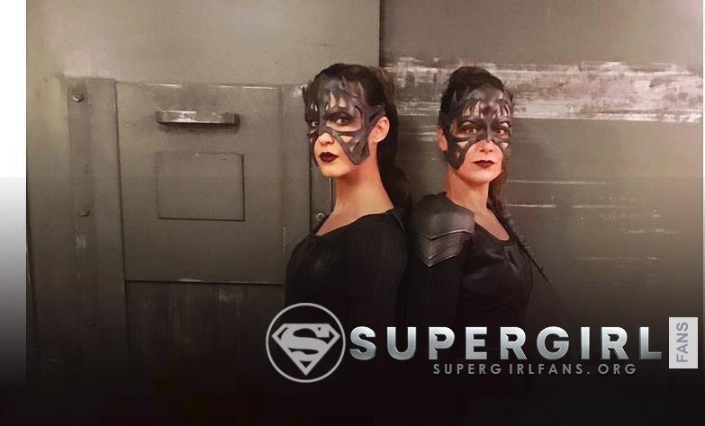 Odette Annable nos comparte una nueva foto desde el set de Supergirl