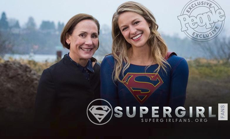 Laurie Metcalf habla de Supergirl