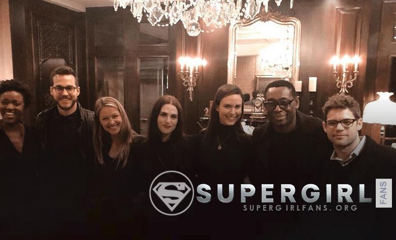 Nuevas fotos del cast de Supergirl