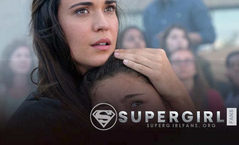 Supergirl: 'Odette Annable habla de la relación en pantalla y fuera de pantalla con la hija de Sam, Emma Tremblay