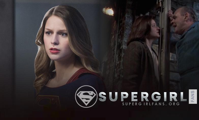 'Supergirl' lanza un saludo a la película 'El silencio de los inocentes' en «Schott Through the Heart»