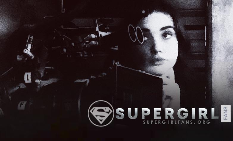 Nueva foto de Amy Jackson en el set de Supergirl