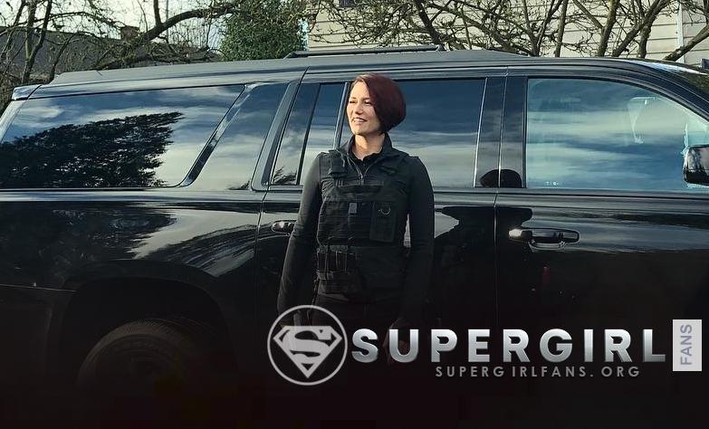 Nueva foto de Chyler Leigh en el set de Supergirl