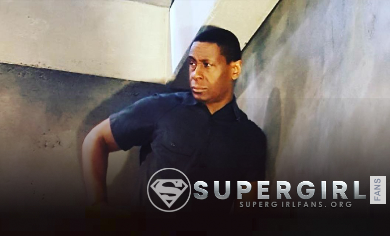 David Harewood nos comparte una nueva foto desde el set de Supergirl