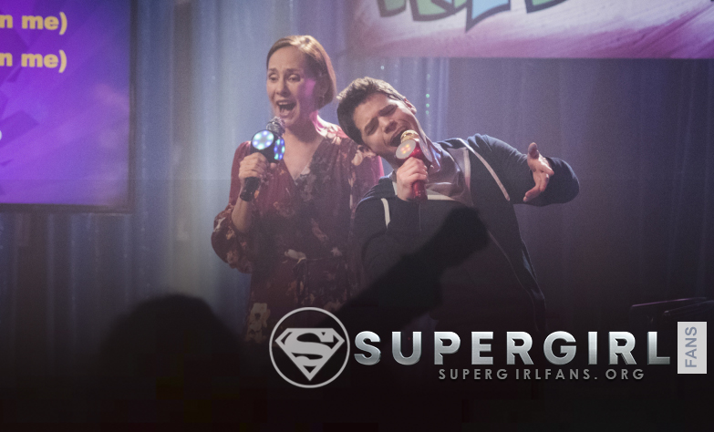 Chyler Leigh va a participar en la escena karaoke del episodio de Supergirl 3.14