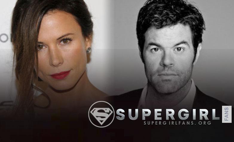 Rhona Mitra y Robert Baker se unen al cast de Supergirl