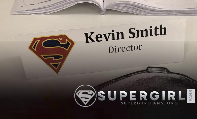 Kevin Smith comenzara a grabar Supergirl  este lunes