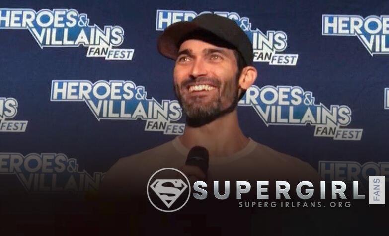 Tyler Hoechlin habla sobre la relación de Clark y Lois en el crossover