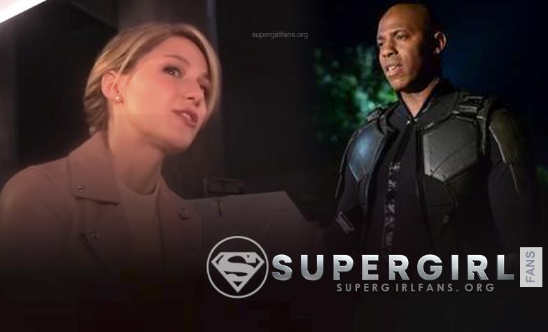 Supergirl: Melissa Benoist habla de cómo Kara reacciona ante James Olsen trabajando con Children of Liberty