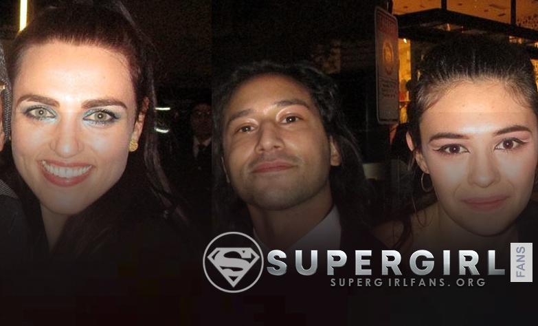 Potos de Katie McGrath, Nicole Maines y Jesse Rath en Flash Episode 100 Party