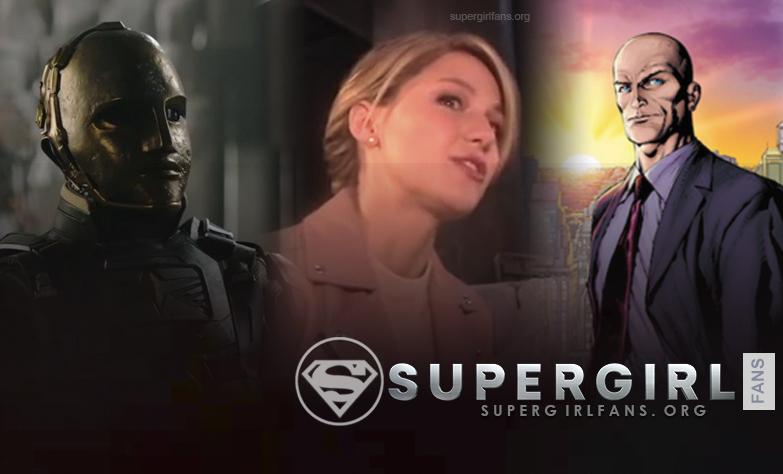 Melissa Benoist habla sobre el Agent Liberty y la llegada de Lex Luthor