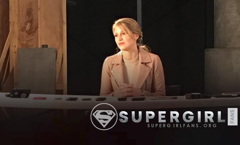 Videos: Entrevista de Melissa Benoist en el set de Supergirl