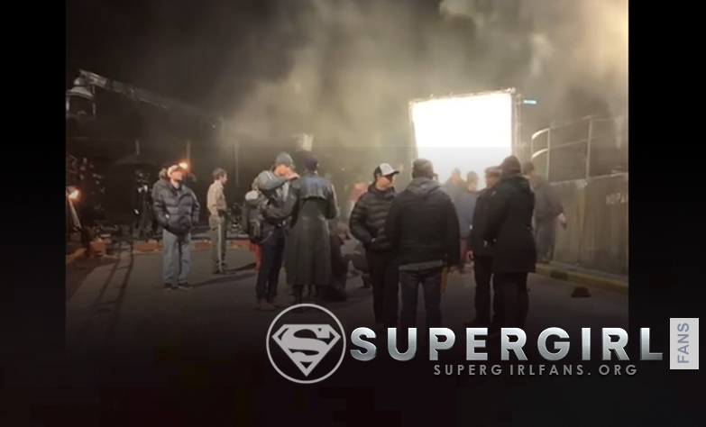 Nuevos videos del set de Supergirl