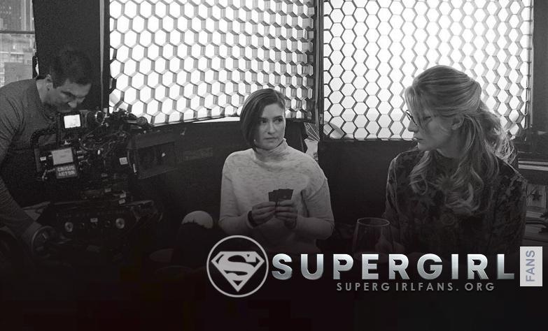 Nueva fotos desde el set de Supergirl