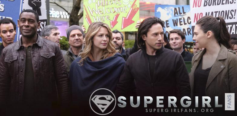 Stills del episodio de Supergirl 4.14 «Stand And Deliver»