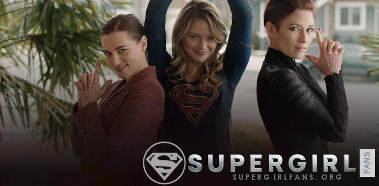 Nuevas fotos del set de Supergirl
