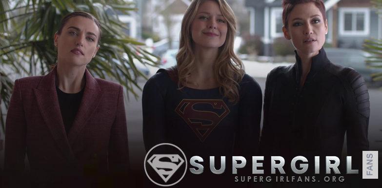 Capturas del episodio de Supergirl 4.17 – All About Eve