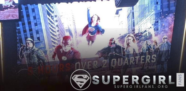 Lanzamiento del primer poster de «Crisis on Infinite Earths»