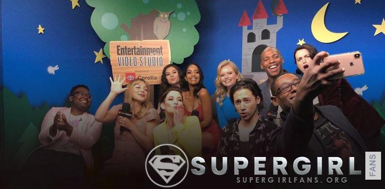 Video: Entrevista Cast de Supergirl con Entertainment Weekly