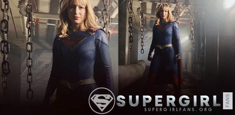 Melissa Benoist sobre el nuevo traje de Supergirl : 'Es más adulto'