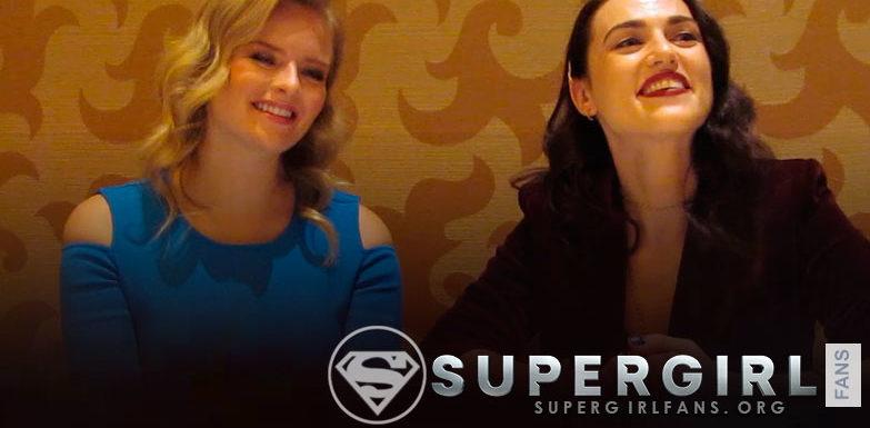 Supergirl: Entrevista a Katie McGrath y Andrea Brooks