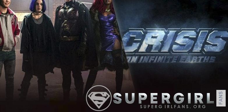 Rumor: Los personajes de titanes de DC Universo aparecerán en Crisis on Infinite Earths