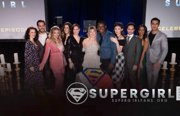 Celebración del episodio 100 de Supergirl