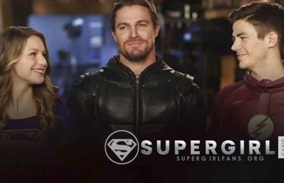 Arrowverse : Melissa Benoist y Grant Gustin elogian a Stephen Amell por ayudar a crear un legado