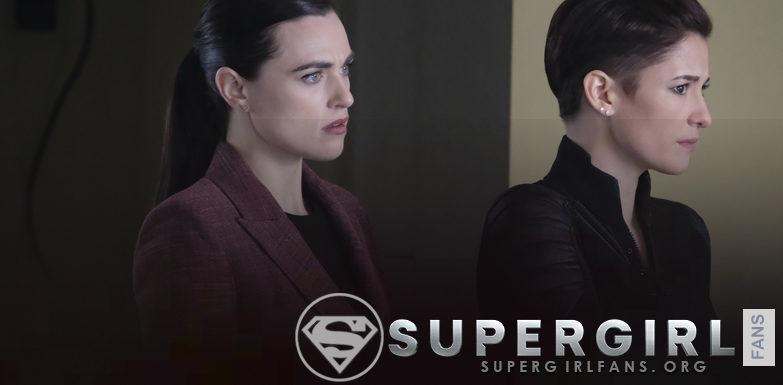 Supergirl: Chyler Leigh  dice que hay'mucha reconstrucción' con Lena