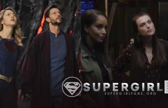 Screen Capture de la sexta temporada de Supergirl