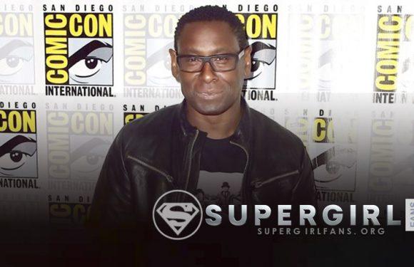 David Harewood nos comparte un mensaje sobre los Sets de Supergirl