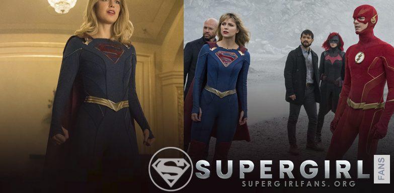Capturas de la quinta temporada de Supergirl
